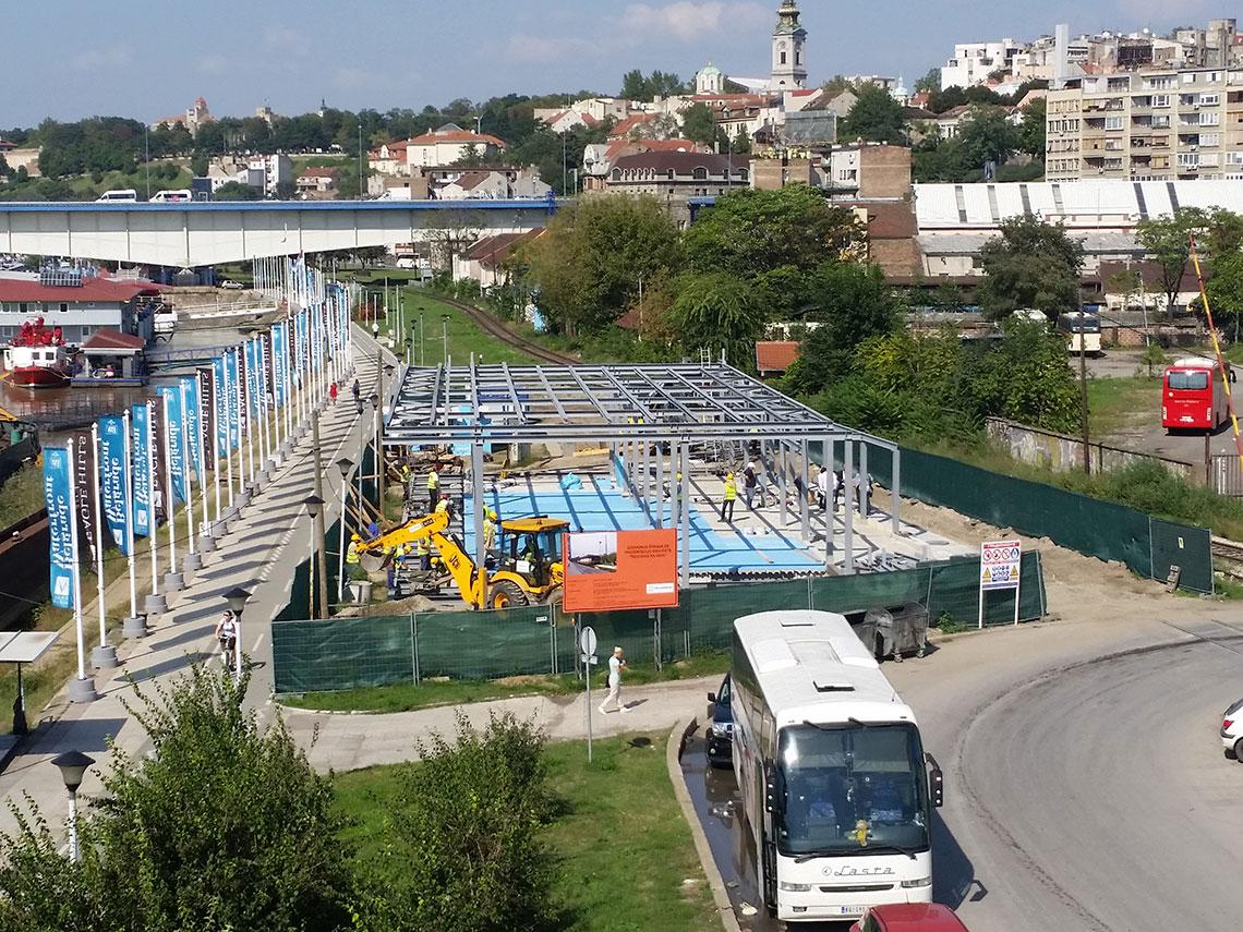 Savanova-Beograd na vodi